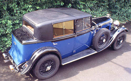 Bentley 4 Litre 1931 Mulliner
