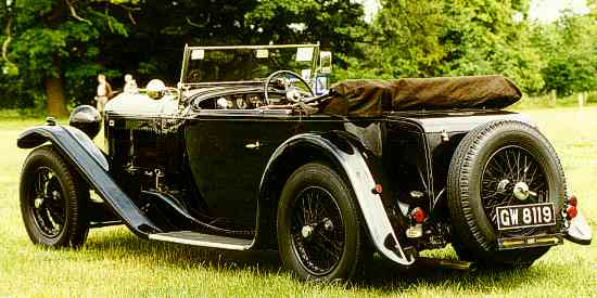 Bentley 4 Litre 1931
