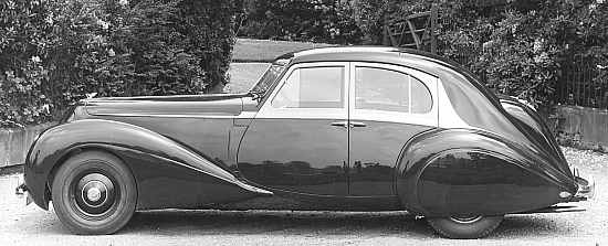 Bentley Corniche prototype, 1939